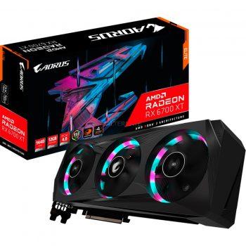 AORUS AMD Radeon RX 6700 XT ELITE 12G, Grafikkarte Angebote günstig kaufen