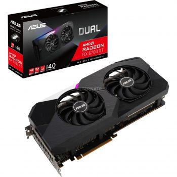 ASUS AMD Radeon RX 6700XT DUAL, Grafikkarte Angebote günstig kaufen