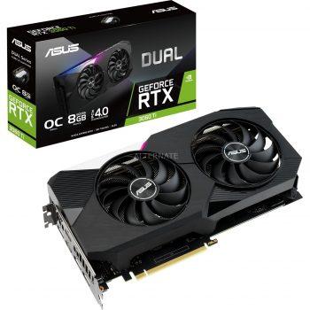 ASUS GeForce RTX 3060 Ti DUAL OC, Grafikkarte Angebote günstig kaufen