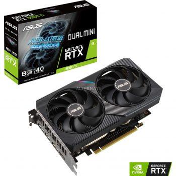 ASUS GeForce RTX 3060TI DUAL MINI, Grafikkarte Angebote günstig kaufen