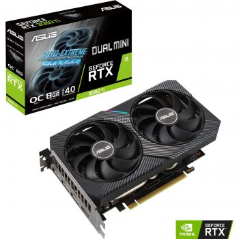 ASUS GeForce RTX 3060TI DUAL MINI OC, Grafikkarte Angebote günstig kaufen