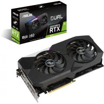 ASUS GeForce RTX 3070 DUAL, Grafikkarte Angebote günstig kaufen