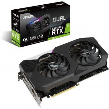 ASUS GeForce RTX 3070 DUAL OC, Grafikkarte Angebote günstig kaufen
