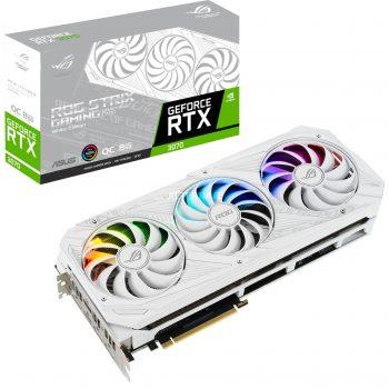 ASUS GeForce RTX 3070 ROG-STRIX GAMING OC WHITE, Grafikkarte Angebote günstig kaufen