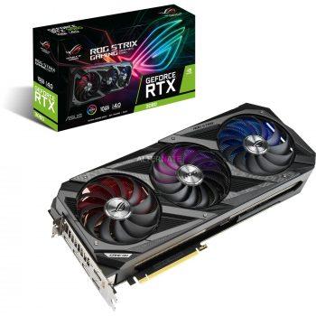 ASUS GeForce RTX 3080 ROG STRIX GAMING, Grafikkarte Angebote günstig kaufen