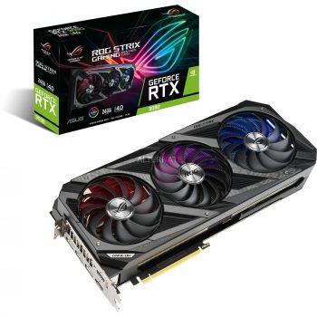 ASUS GeForce RTX 3090 ROG STRIX GAMING, Grafikkarte Angebote günstig kaufen