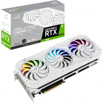 ASUS GeForce RTX 3090 ROG STRIX OC WHITE, Grafikkarte Angebote günstig kaufen