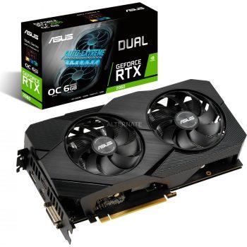 Asus GeForce RTX 2060 DUAL EVO OC, Grafikkarte Angebote günstig kaufen