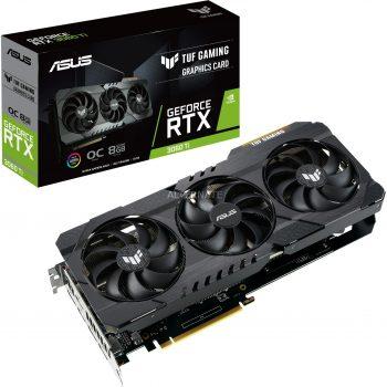 Asus GeForce RTX 3060 Ti TUF GAMING OC V2 LHR, Grafikkarte Angebote günstig kaufen