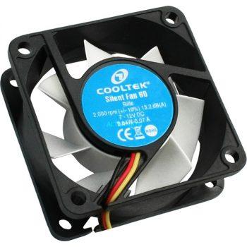 Cooltek CT-Silent Fan 60 60x60x25, Gehäuselüfter Angebote günstig kaufen