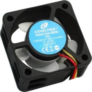 Cooltek Silent Fan 4020 40x40x20, Gehäuselüfter Angebote günstig kaufen