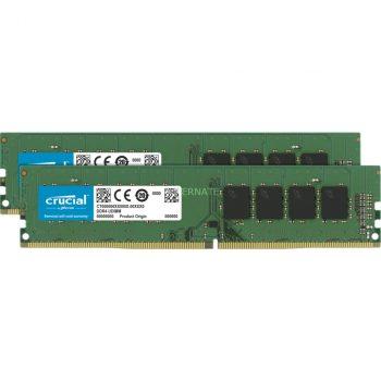 Crucial DIMM 64 GB DDR4-3200 Kit, Arbeitsspeicher Angebote günstig kaufen