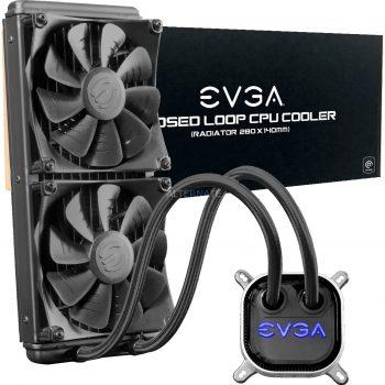 EVGA CLC 280mm All-In-One RGB LED CPU Liquid Cooler, Wasserkühlung Angebote günstig kaufen