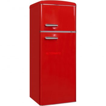 Exquisit RKGC270-45-H-160E rot, Kühl-/Gefrierkombination Angebote günstig kaufen