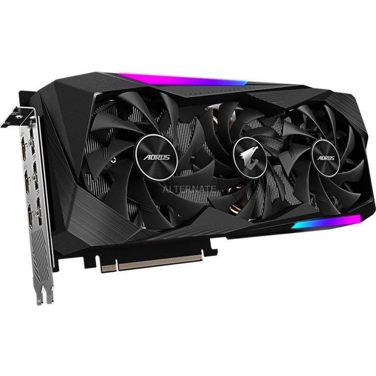 GIGABYTE GeForce RTX 3070 AORUS MASTER 8G, Grafikkarte Angebote günstig kaufen