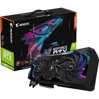 GIGABYTE GeForce RTX 3080 AORUS MASTER 10G, Grafikkarte Angebote günstig kaufen