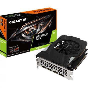 Gigabyte GeForce GTX 1660 Ti MINI ITX OC 6G, Grafikkarte Angebote günstig kaufen