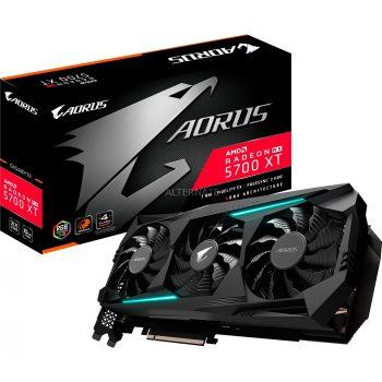 Gigabyte Radeon RX 5700 XT AORUS 8G, Grafikkarte Angebote günstig kaufen