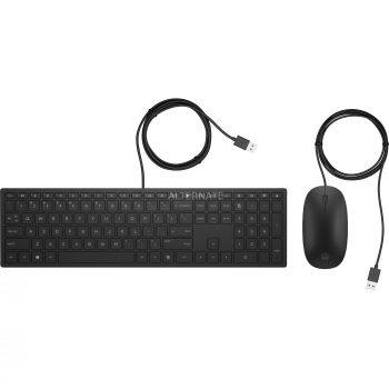 HP Pavillon kabelgebundene Tastatur und Maus 400, Desktop-Set Angebote günstig kaufen