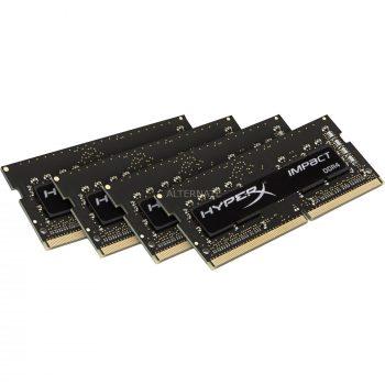 HyperX HyperX SO-DIMM 32 GB DDR4-2400 Quad-Kit, Arbeitsspeicher Angebote günstig kaufen