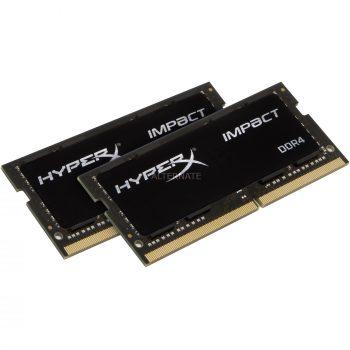HyperX SO-DIMM 16 GB DDR4-2666 Kit, Arbeitsspeicher Angebote günstig kaufen