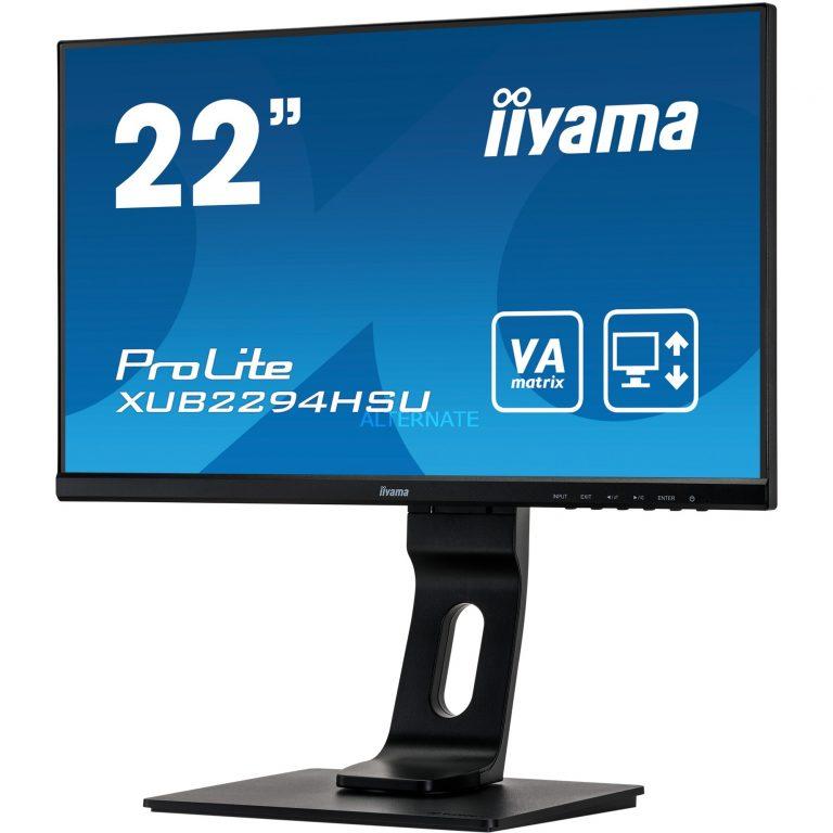 Iiyama XUB2294HSU-B1, LED-Monitor Angebote günstig kaufen