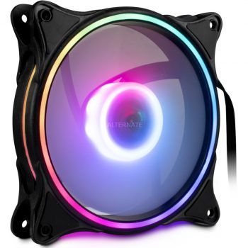 Inter-Tech Argus RGB-Fan Set RS-08 120x120x25mm, Gehäuselüfter Angebote günstig kaufen