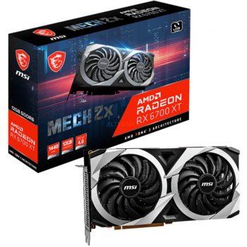 MSI AMD Radeon RX 6700 XT MECH 2X 12G, Grafikkarte Angebote günstig kaufen