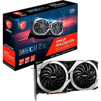 MSI AMD Radeon RX 6700 XT MECH 2X 12G OC, Grafikkarte Angebote günstig kaufen