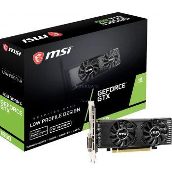MSI GeForce GTX 1650 4GT LP, Grafikkarte Angebote günstig kaufen