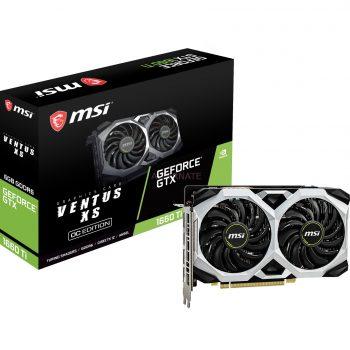 MSI GeForce GTX 1660 Ti VENTUS XS 6G OC, Grafikkarte Angebote günstig kaufen