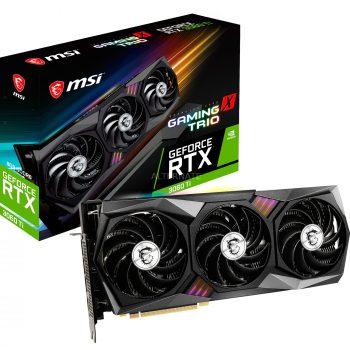 MSI GeForce RTX 3060 Ti GAMING X TRIO, Grafikkarte Angebote günstig kaufen