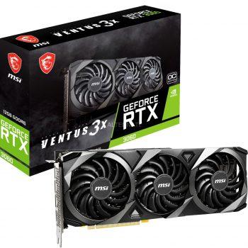 MSI GeForce RTX 3060 VENTUS 3X OC 12G, Grafikkarte Angebote günstig kaufen