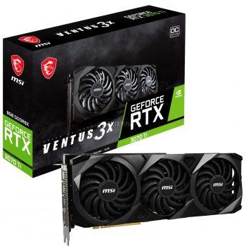 MSI GeForce RTX 3070 Ti VENTUS 3X 8G OC, Grafikkarte Angebote günstig kaufen