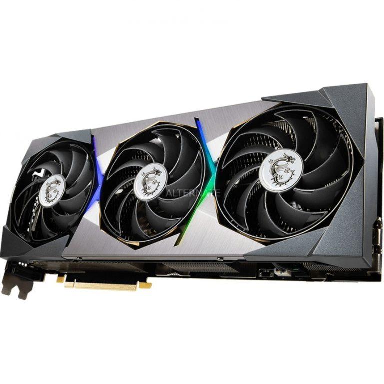 MSI GeForce RTX 3080 Ti SUPRIM X LHR, Grafikkarte Angebote günstig kaufen