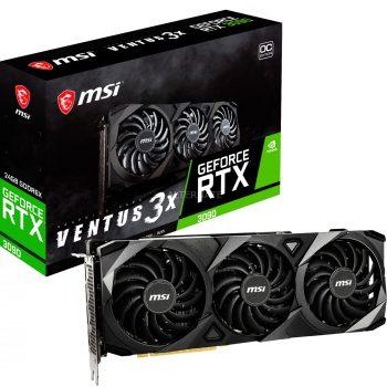 MSI GeForce RTX 3090 Ventus 3X 24G OC, Grafikkarte Angebote günstig kaufen