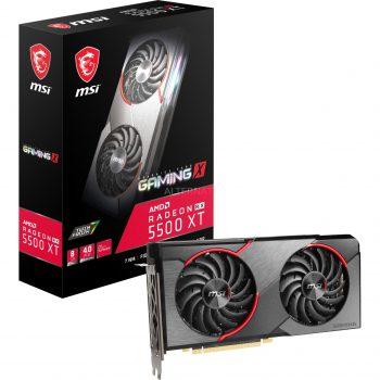 MSI Radeon RX 5500 XT Gaming X 8G, Grafikkarte Angebote günstig kaufen