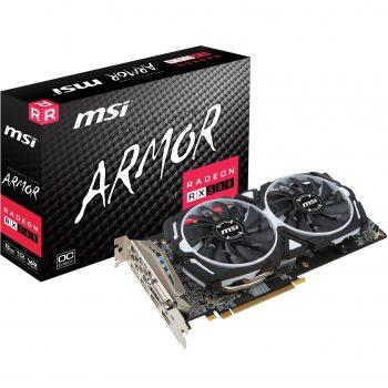 MSI Radeon RX 580 ARMOR 8G OC, Grafikkarte Angebote günstig kaufen