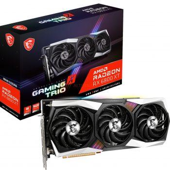 MSI Radeon RX 6800 XT GAMING X TRIO 16G, Grafikkarte Angebote günstig kaufen