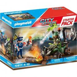 PLAYMOBIL 70817 Starter Pack Polizei: Gefahrentraining Spielzeug Angebote günstig kaufen