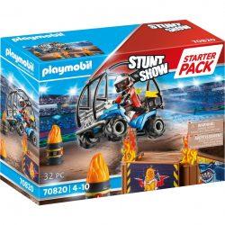 PLAYMOBIL 70820 Starter Pack Stuntshow Quad mit Feuerrampe Spielzeug Angebote günstig kaufen