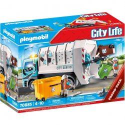 PLAYMOBIL 70885 Müllfahrzeug mit Blinklicht Spielzeug Angebote günstig kaufen