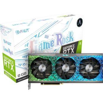 Palit GeForceRTX 3070 Ti GameRock LHR, Grafikkarte Angebote günstig kaufen