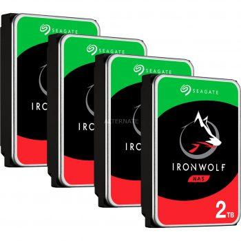 Seagate IronWolf NAS 2 TB CMR 4x, Festplatte Angebote günstig kaufen