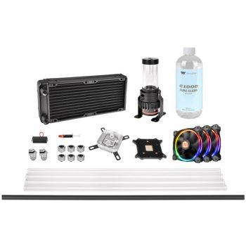 Thermaltake Pacific M240 D5 Hard Tube Water Cooling Kit, Wasserkühlung Angebote günstig kaufen