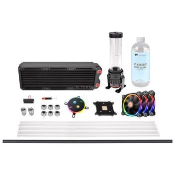 Thermaltake Pacific M360 D5 Hard Tube Water Cooling Kit, Wasserkühlung Angebote günstig kaufen