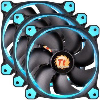 Thermaltake Riing 12 LED Blue 3-Fan Pack, Gehäuselüfter Angebote günstig kaufen