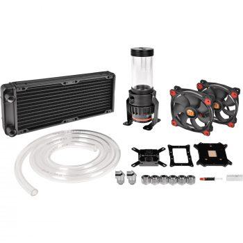 Thermaltake Thermaltake Pacific Gaming R240 D5 Water Cooling Kit, Wasserkühlung Angebote günstig kaufen