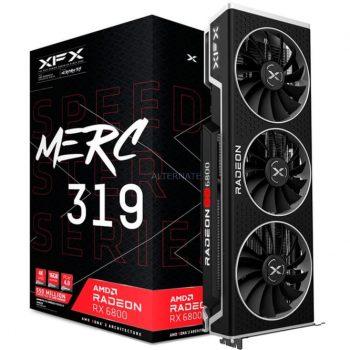 XFX Radeon RX 6800 MERC 319 Black Gaming 16GB, Grafikkarte Angebote günstig kaufen