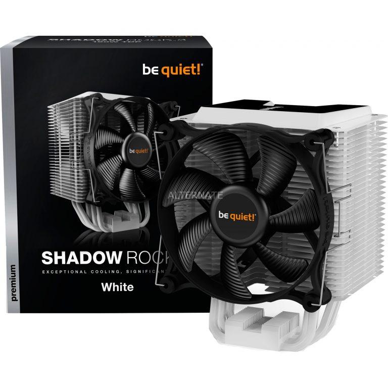 be quiet! Shadow Rock 3 White, CPU-Kühler Angebote günstig kaufen